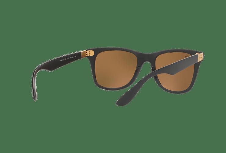 Ray Ban Wayfarer Liteforce Matte Black lente Copper Flash cod. RB4195 601S2Y 52 - Image 7