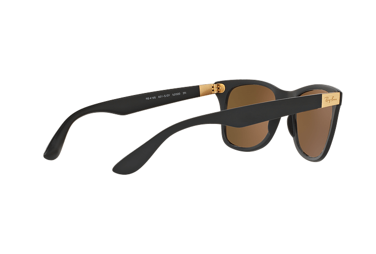 Ray Ban Wayfarer Liteforce Matte Black lente Copper Flash cod. RB4195 601S2Y 52 - Image 8