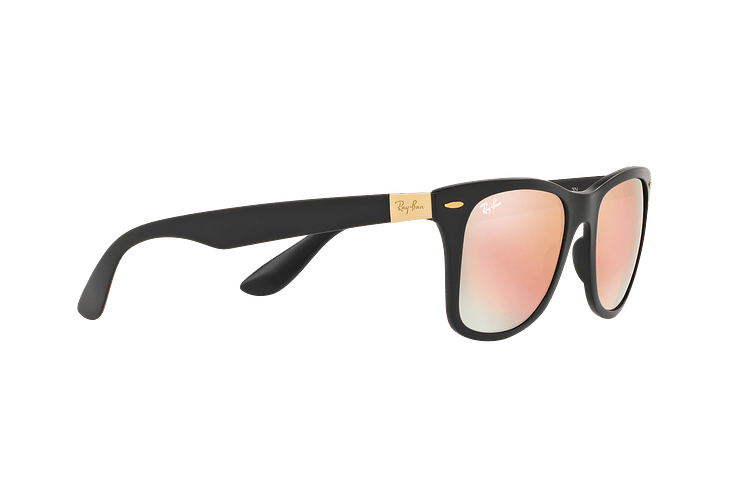 Ray Ban Wayfarer Liteforce Matte Black lente Copper Flash cod. RB4195 601S2Y 52 - Image 10