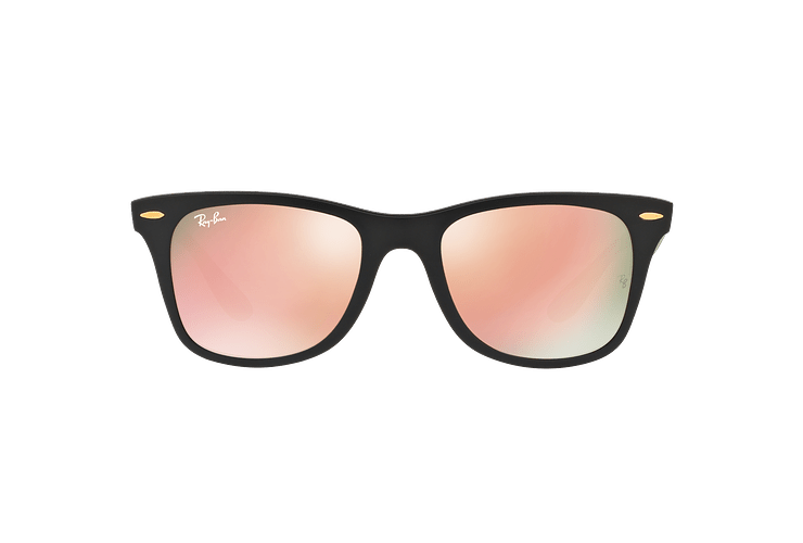 Ray Ban Wayfarer Liteforce Matte Black lente Copper Flash cod. RB4195 601S2Y 52 - Image 12