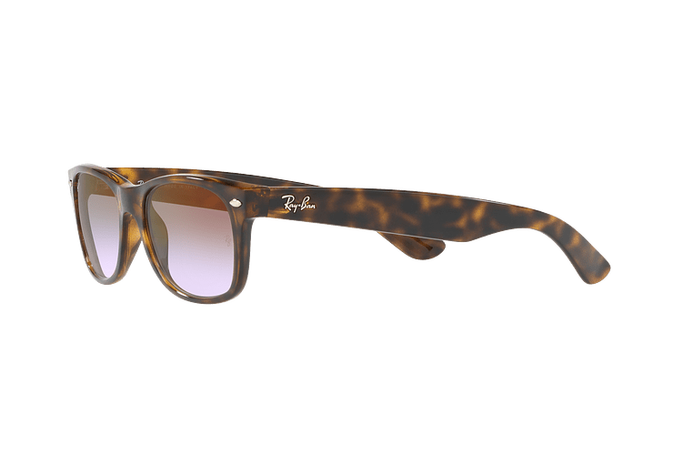 Ray Ban New Wayfarer Havana lente Clear Gradient Violet cod. RB2132 710/S5 55 - Image 2