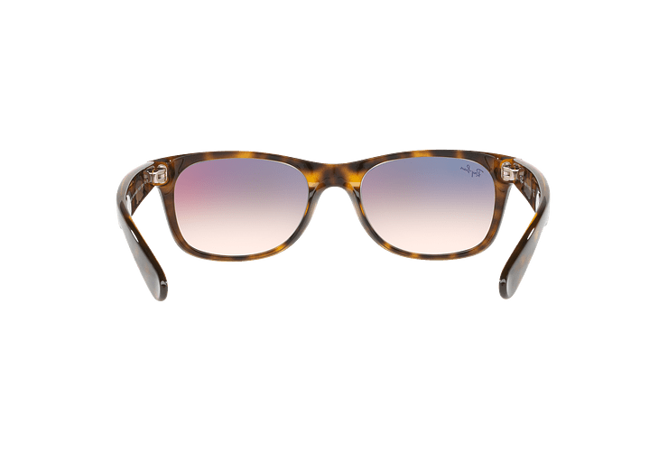Ray Ban New Wayfarer Havana lente Clear Gradient Violet cod. RB2132 710/S5 55 - Image 6