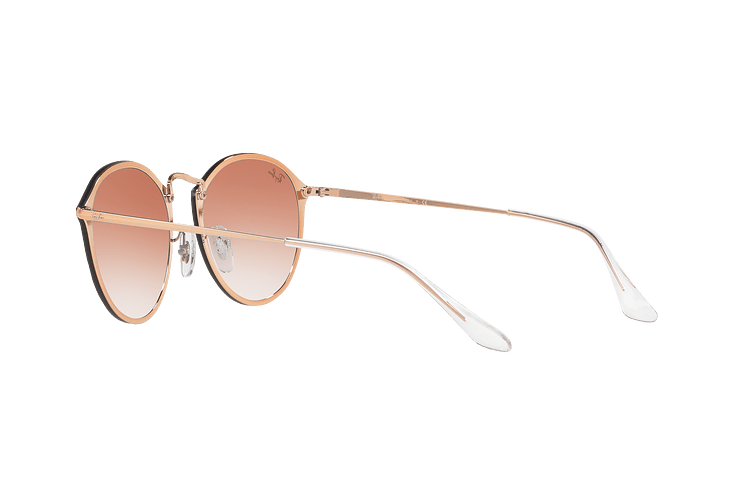 Ray Ban Blaze Round Copper lente Clear Gradient Red Mirror cod. RB3574N 9035V0 59 - Image 4