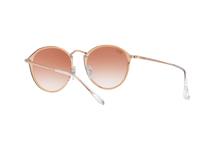 Ray Ban Blaze Round Copper lente Clear Gradient Red Mirror cod. RB3574N 9035V0 59 - Image 5