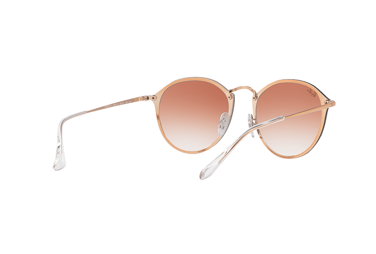 Ray Ban Blaze Round Copper lente Clear Gradient Red Mirror cod. RB3574N 9035V0 59 - Image 7