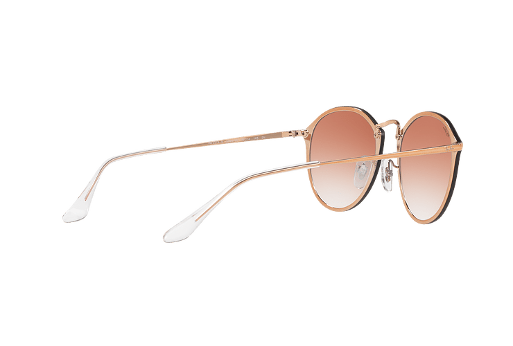 Ray Ban Blaze Round Copper lente Clear Gradient Red Mirror cod. RB3574N 9035V0 59 - Image 8