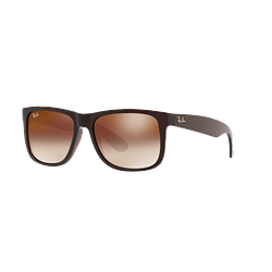 Ray Ban Justin Brown lente Brown / Red Gradient Mirror cod. RB4165 714/S0 54