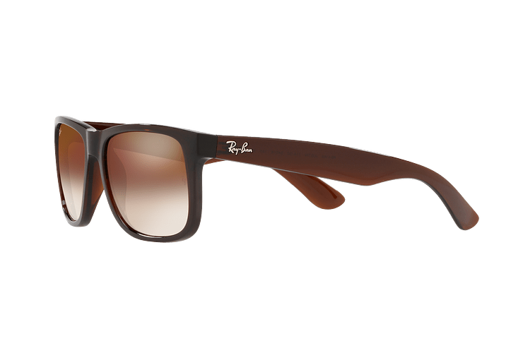 Ray Ban Justin Brown lente Brown / Red Gradient Mirror cod. RB4165 714/S0 54 - Image 2