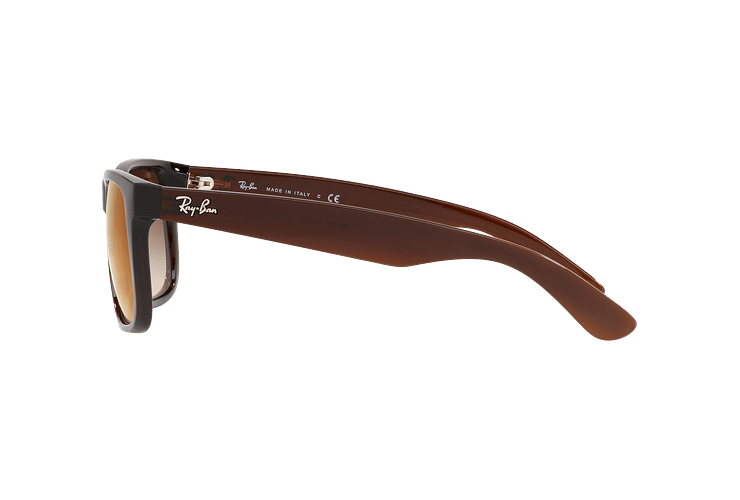 Ray Ban Justin Brown lente Brown / Red Gradient Mirror cod. RB4165 714/S0 54 - Image 3
