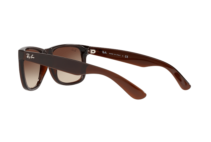 Ray Ban Justin Brown lente Brown / Red Gradient Mirror cod. RB4165 714/S0 54 - Image 4