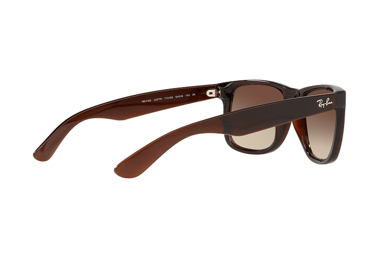 Ray Ban Justin Brown lente Brown / Red Gradient Mirror cod. RB4165 714/S0 54 - Image 8