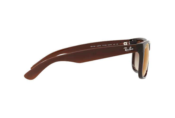 Ray Ban Justin Brown lente Brown / Red Gradient Mirror cod. RB4165 714/S0 54 - Image 9
