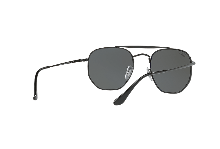 Ray Ban Marshal Black lente Green Polarized cod. RB3648 002/58 54 - Image 7