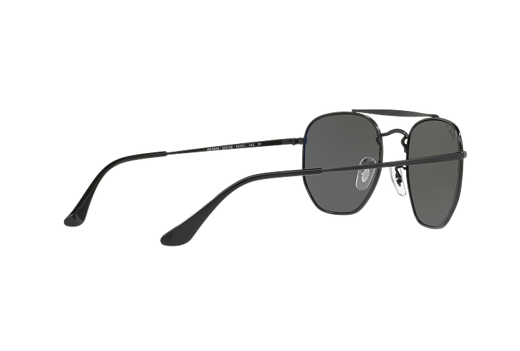 Ray Ban Marshal Black lente Green Polarized cod. RB3648 002/58 54 - Image 8