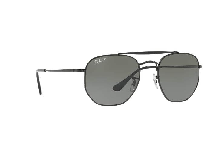 Ray Ban Marshal Black lente Green Polarized cod. RB3648 002/58 54 - Image 11