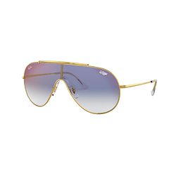 Ray Ban Wings Gold lente Blue Mirror red cod. RB3597 001/X0 33