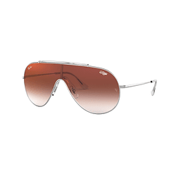 Ray Ban Wings Silver lente Clear Gradient Red Mirror cod. RB3597 003/V0 33