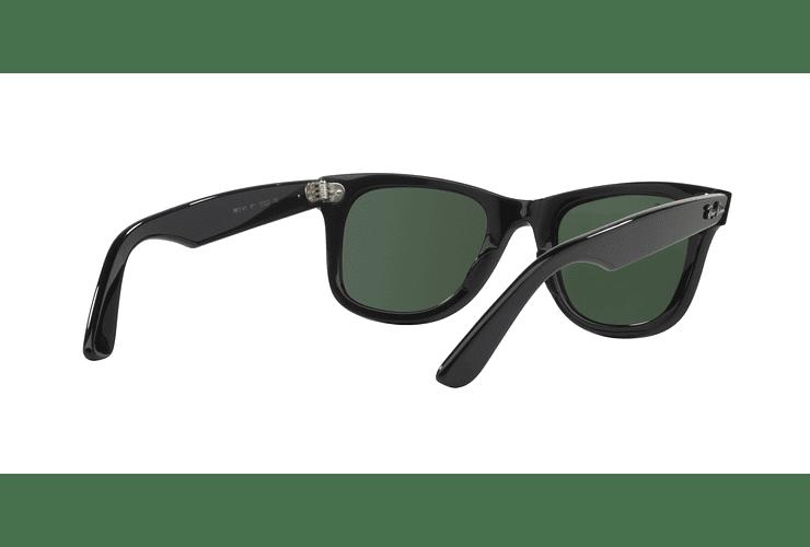 Ray Ban Wayfarer Black lente Crystal Green cod. RB2140 901 54 - Image 7