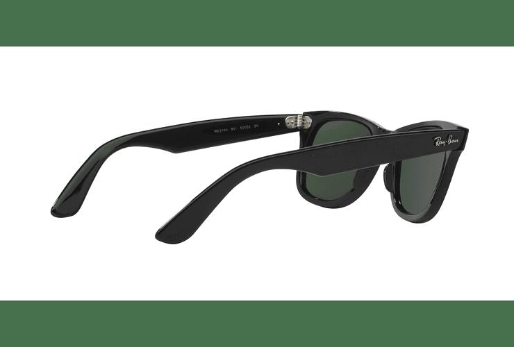 Ray Ban Wayfarer Black lente Crystal Green cod. RB2140 901 54 - Image 8