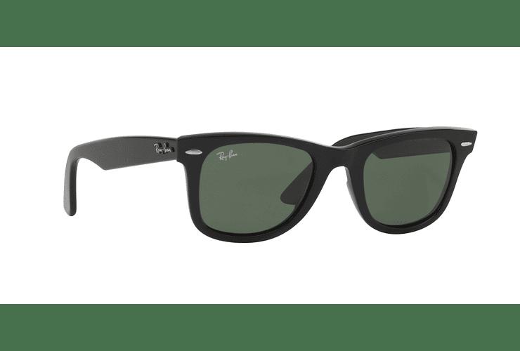 Ray Ban Wayfarer Black lente Crystal Green cod. RB2140 901 54 - Image 11