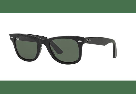 Ray Ban Wayfarer Black lente Crystal Green cod. RB2140 901 54