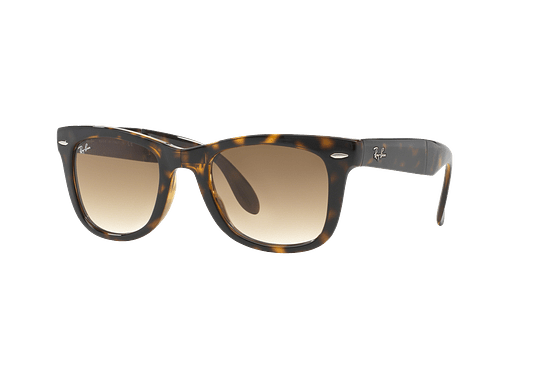 Ray Ban Wayfarer Folding Light Havana lente Crystal Brown Gradient cod. RB4105 710/51 50