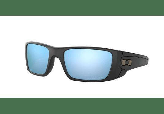 Oakley Fuel Cell Matte Black lente Deep Prizm y Polarized cod. OO9096-D860
