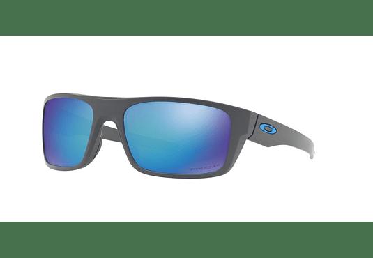 Oakley Drop Point Matte Dark Grey lente Sapphire Prizm y Polarized cod. OO9367-0660