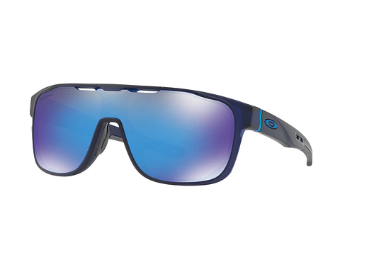Oakley Crossrange Shield Matte translucent blue lente Sapphire PRIZM cod. OO9387-0531