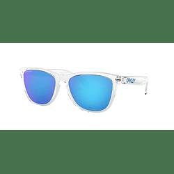 Oakley Frogskins Crystal clear lente Sapphire PRIZM cod. OO9013-D055