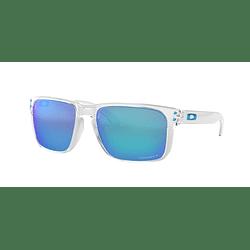 Oakley Holbrook XL Polished Clear lente Sapphire Prizm y Polarized cod. OO9417-0759