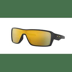 Oakley Ridgeline Matte Black lente 24K Gold Prizm y Polarized cod. OO9419-0527