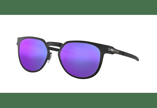 Oakley Diecutter Satin Black lente Violet Iridium Polarized cod. OO4137-0655