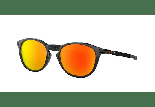 Oakley Pitchman R Polished Black lente Ruby Prizm y Polarized cod. OO9439-0550