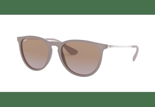 Ray Ban Erika Dark rubber sand lente Brown Gradient cod. RB4171 600068 54