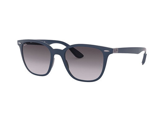 Ray Ban RB4297 Matte dark blue lente Dark Grey Gradient cod. RB4297 63318G 51