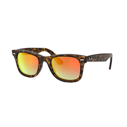 Ray Ban Wayfarer RB4340 Havana lente Red Mirror Gradient cod. RB4340 710/4W 50