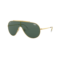 Ray Ban Wings Gold lente Dark Green cod. RB3597 905071 33