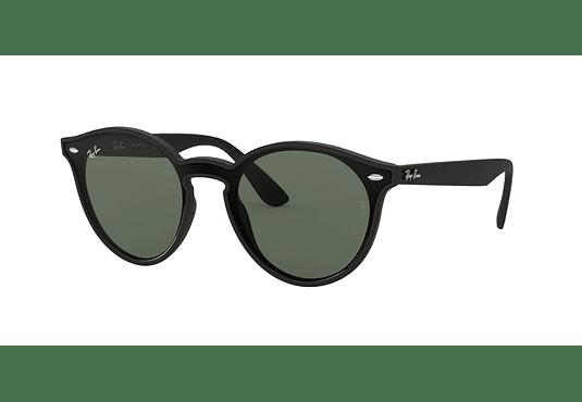 Ray Ban Round RB4380N Blaze Matte Black lente Green cod. RB4380N 601S71 37