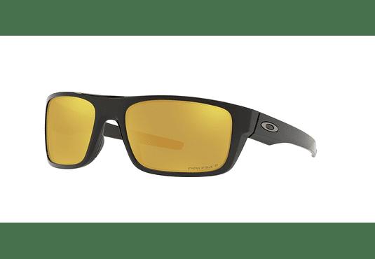 Oakley Drop Point Polished Black lente 24K Gold Prizm y Polarized cod. OO9367-2160