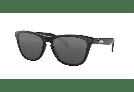 Oakley Frogskins Polished Black lente Black PRIZM cod. OO9013-C455