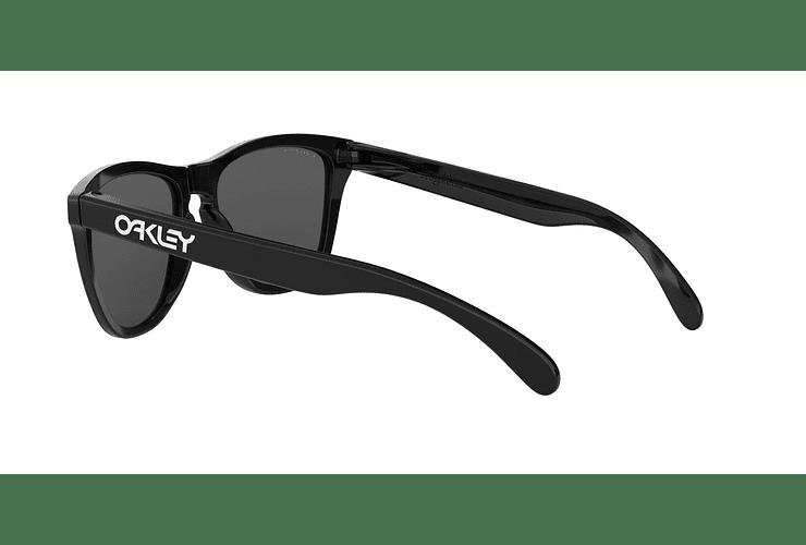 Oakley Frogskins Polished Black lente Black PRIZM cod. OO9013-C455 - Image 4