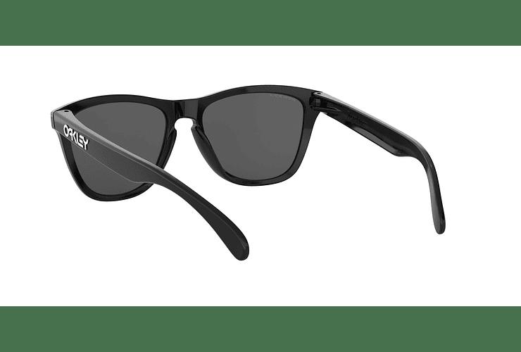 Oakley Frogskins Polished Black lente Black PRIZM cod. OO9013-C455 - Image 5