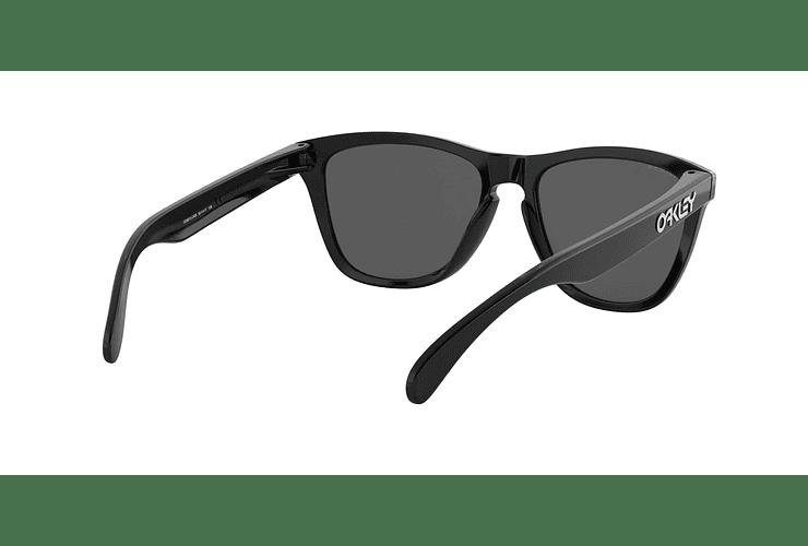 Oakley Frogskins Polished Black lente Black PRIZM cod. OO9013-C455 - Image 7