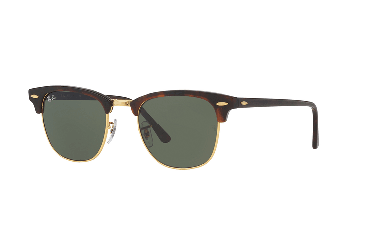 Ray-Ban Clubmaster Mock Tortoise lente Green cod. RB3016 W0366 51 - Image 1