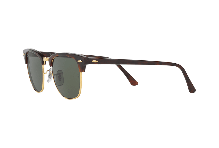 Ray-Ban Clubmaster Mock Tortoise lente Green cod. RB3016 W0366 51 - Image 2