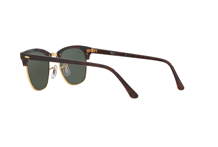Ray-Ban Clubmaster Mock Tortoise lente Green cod. RB3016 W0366 51 - Image 4