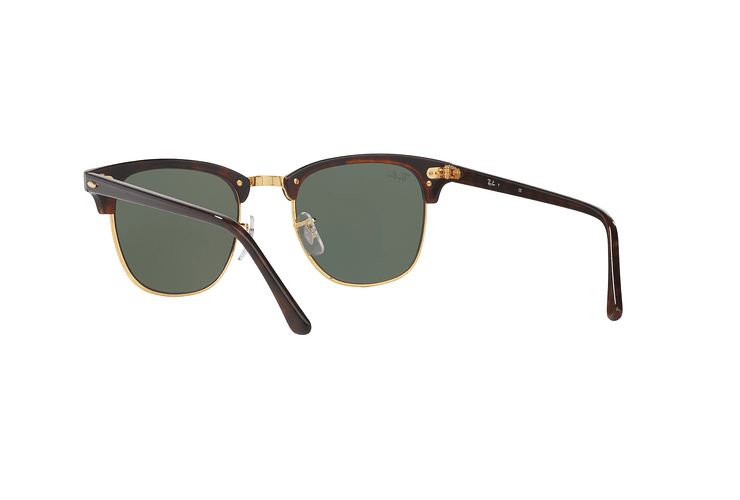 Ray-Ban Clubmaster Mock Tortoise lente Green cod. RB3016 W0366 51 - Image 5