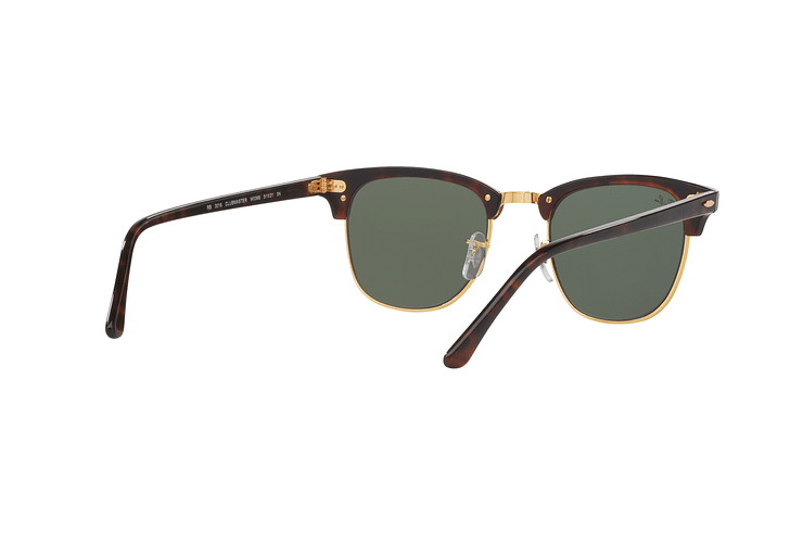 Ray-Ban Clubmaster Mock Tortoise lente Green cod. RB3016 W0366 51 - Image 7