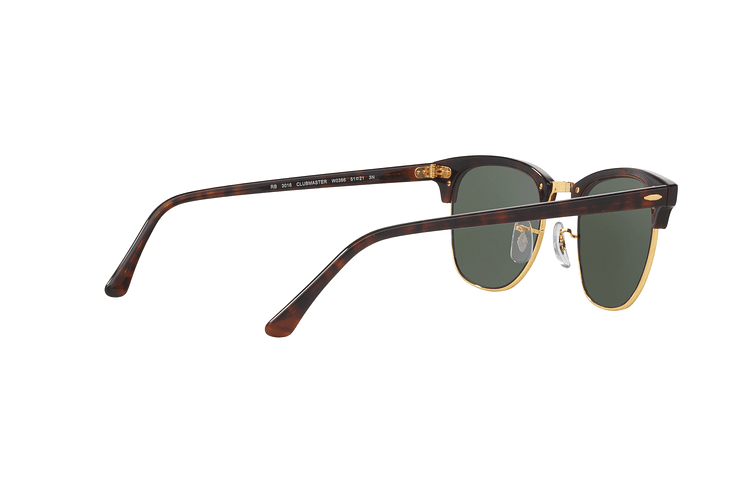 Ray-Ban Clubmaster Mock Tortoise lente Green cod. RB3016 W0366 51 - Image 8